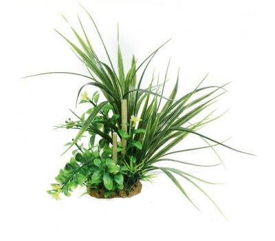 ArtUniq Ophiopogon & bamboo 20 - Композиция из искусственных растений с бамбуком Офиопогон, 20 см