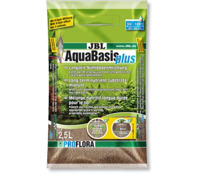 JBL AquaBasis plus - Готовая смесь питательных элементов для новых аквариумов, 2,5 л.