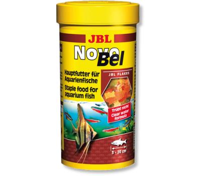 JBL NovoBel - Основной корм в форме хлопьев для всех аквариумных рыб, 100 мл. (16 г.)