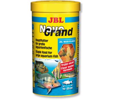 JBL NovoGrand - Основной корм в форме крупных хлопьев для крупных видов рыб, 1000 мл. (180 г.)