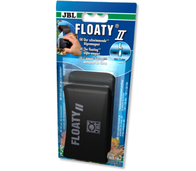 JBL Floaty L - Плавающий магнитный скребок для стекол толщиной до 15 мм.