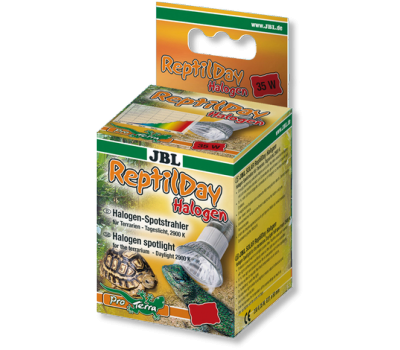 JBL ReptilDay Halogen - Галогеновая лампа для террариума, 75 ватт