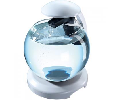 Аквариум  Tetra Cascade Globe 6.8l БЕЛЫЙ - Круглый аквариум (Диаметр 27.9)