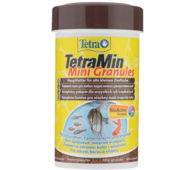 Корм для всех видов рыб Tetra Min Mini Granules 100ml