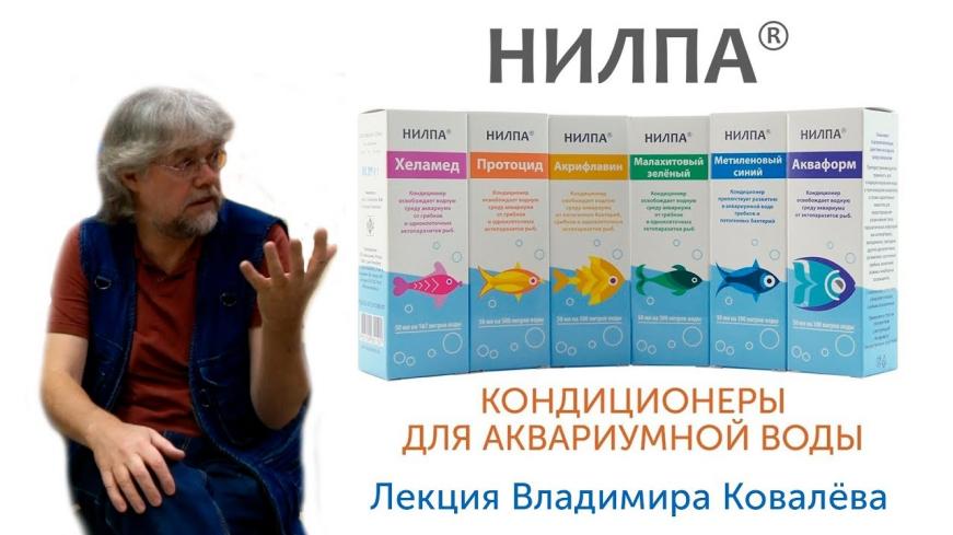 Кондиционеры для воды НИЛПА - лекция Владимира Ковалёва.