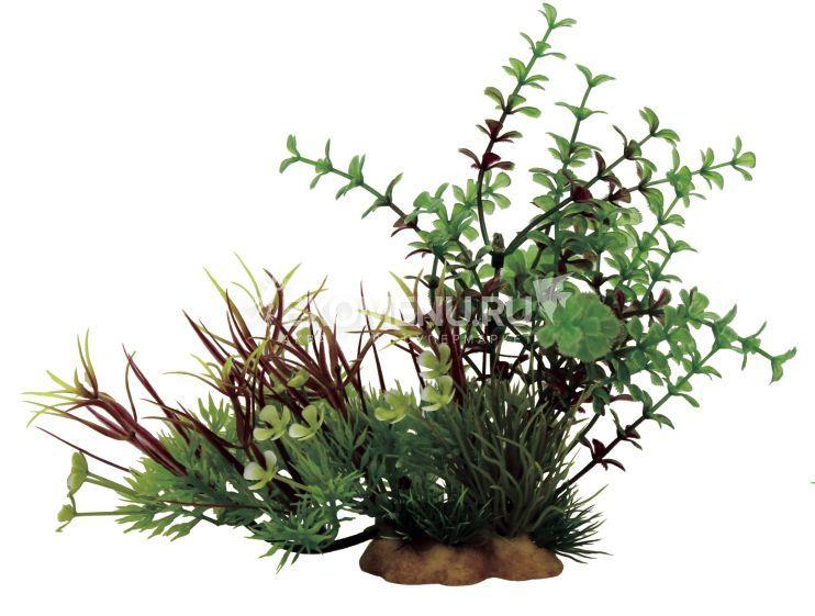 ArtUniq Micranthemum mix 15 - Композиция из искусственных растений Микрантемум, 20x10x15 см