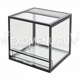 Террариум профильный AquaPlus PROFI 90 (450х450х450-5/8) черный