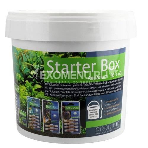 Набор Prodibio Starter Box  для запуска растительных аквариумов от 20 до 60л
