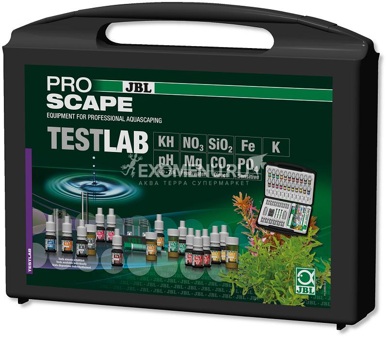 JBL ProAquaTest Lab ProScape - Комплект профессиональных тестов для определения 9-ти параметров воды в пресноводных растительных аквариумах