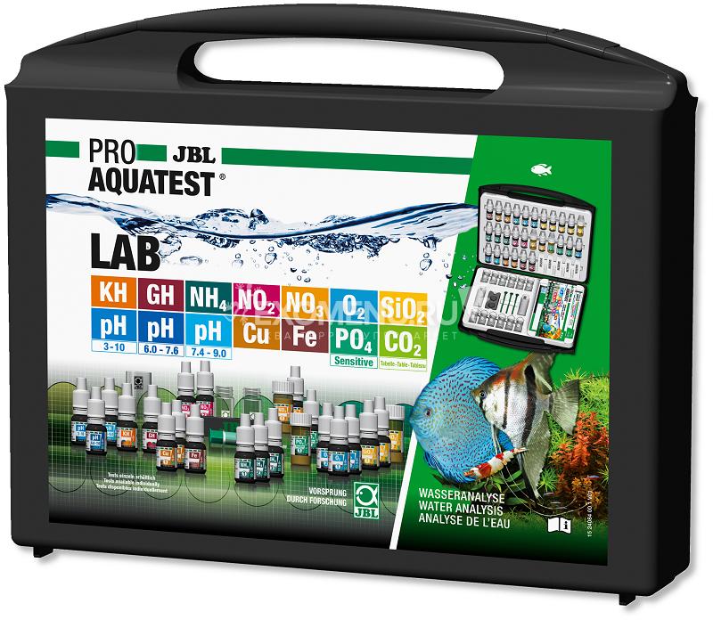 JBL ProAquaTest Lab - Комплект тестов для определения 12-ти параметров пресной воды