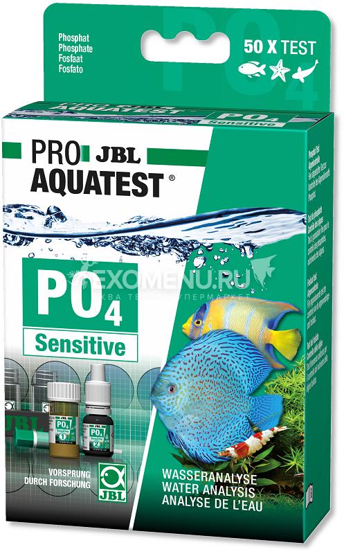JBL ProAquaTest PO4 Phosphate sensitive - Экспресс-тест для определения содержания фосфатов в пресной и морской воде, примерно на 50 измерений фото