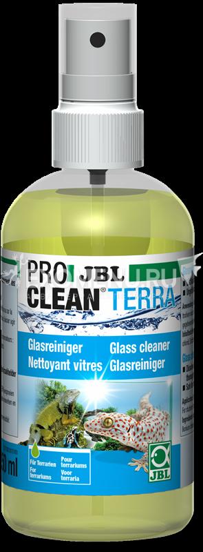 JBL ProClean Terra - Чистящее средство для стекол террариума, 250 мл