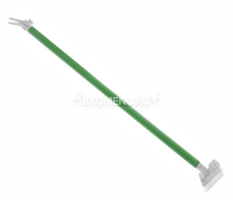 ALEAS Скребок со сменным лезвием и ручкой для посадки растений 40см