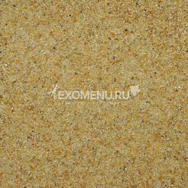 DECOTOP Atoyac - Природный чистый жёлтый песок,  0.5-1 мм, 6 кг/4 л
