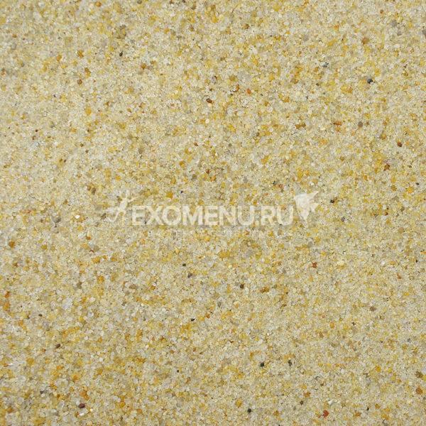 DECOTOP Atoyac - Природный чистый жёлтый песок,  0.1-0.5 мм, 2.3 кг/1.5 л