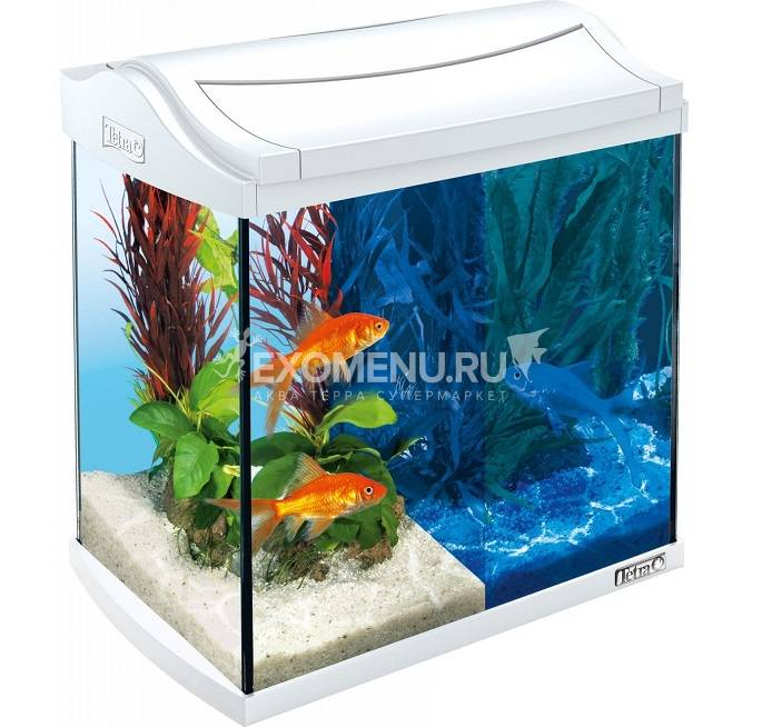 Аквариум Tetra AquaArt 20 l LED GoldFish БЕЛЫЙ