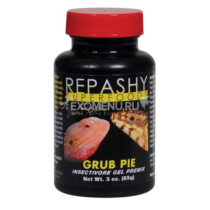 Grub Pie Reptile - Корм для насекомоядных рептилий
