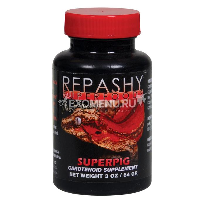 SuperPig - Витаминная добавка с каротиноидами для рептилий, рыб, амфибий и птиц