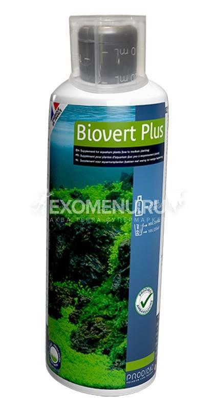 Удобрение Prodibio BioVert Plus для растений, без нитратов и фосфатов, 500 мл для аквариумов до 20 000л