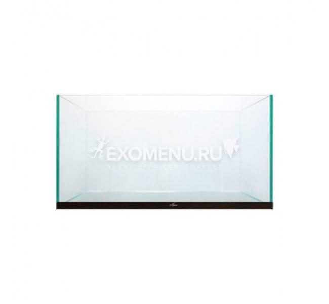 IWAGUMI 55 аквариум для акваскейпинга, без свет-ка, герметик бесцветный, стекло Pilkington Optifloat™ (полированная еврокромка), 6-8 мм 60 л, 55*35*35 см, пласт. нижн. рамка