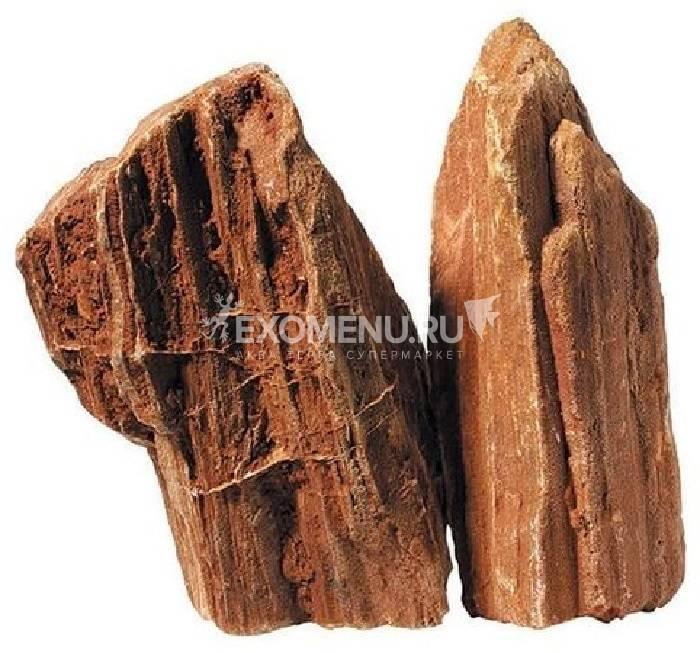 Камень Красный слоистый, цена за кг