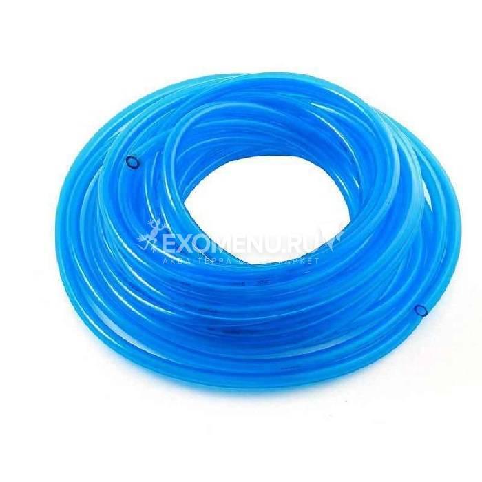 Шланг ПВХ в бухте 100 м гибкий D4 голубой (цена за 1м)