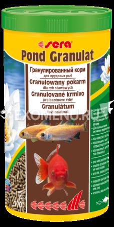 Сера Корм для прудовых рыб POND GRANULAT 1 л (170 г).