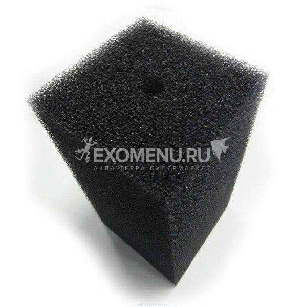 Губка фильтрующая пенополиуритановая 200х100х100мм PPI 30 черная