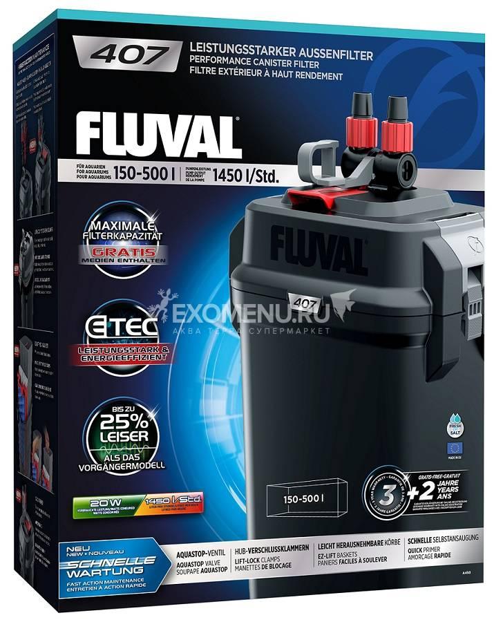 Внешний фильтр Fluval 407. 1450 л/час. (ПОД ЗАКАЗ)