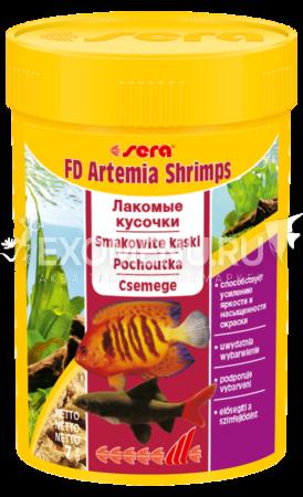 Корм для рыб SERA FD ARTEMIA SHRIMPS (артемия) 100 мл (7 г).