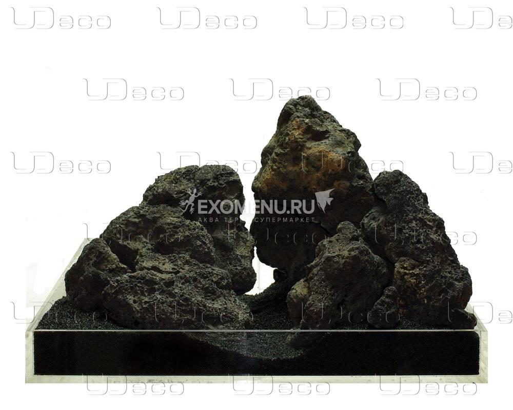 UDeco Black Lava XL - Натуральный камень