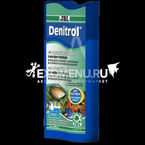 JBL Denitrol - Стартовые бактерии для пресноводных и морских аквариумов, 250 мл, на 7500 л