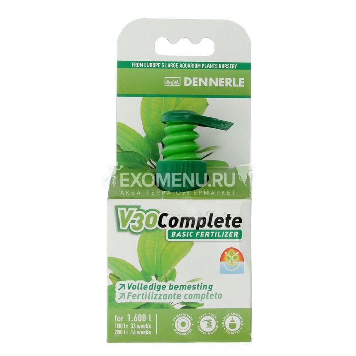 Dennerle V30 Complete - Полное комплексное удобрение для всех аквариумных растений, 50 мл на 1600 л