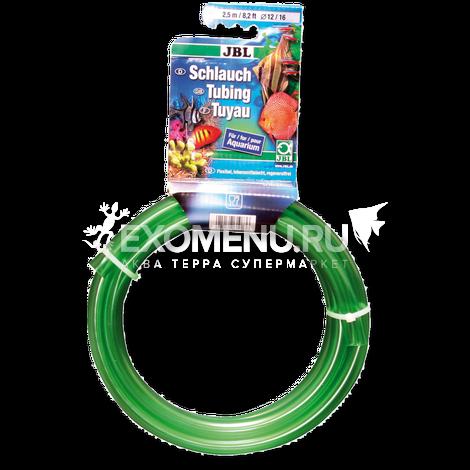 JBL Aquarium tubing GREEN 16/22 - Гибкий шланг для воды, прозрачный зеленый, 2,5 м, на подвесе