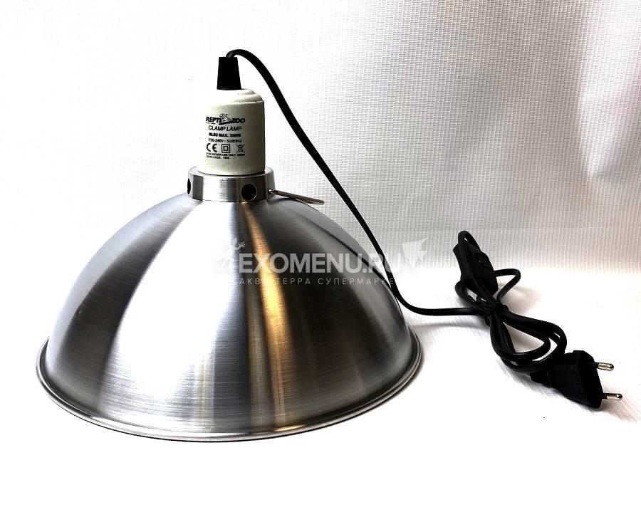 Светильник на зажиме RL03, 200Вт, 255мм, Repti