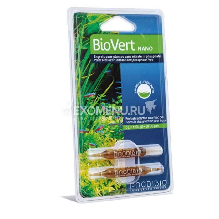 Pridibio BIO VERT NANO добавка олигоэлементов для аквариумных растений (2 шт), блистер