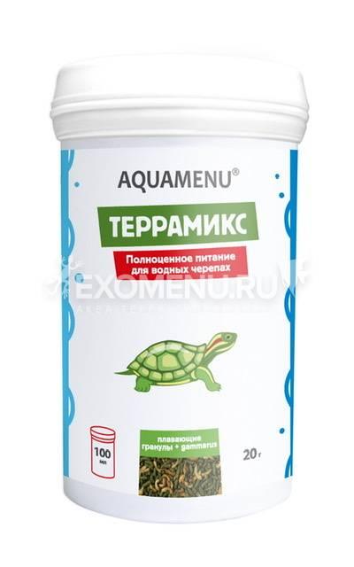 Корм AQUAMENU Террамикс 100 мл, корм