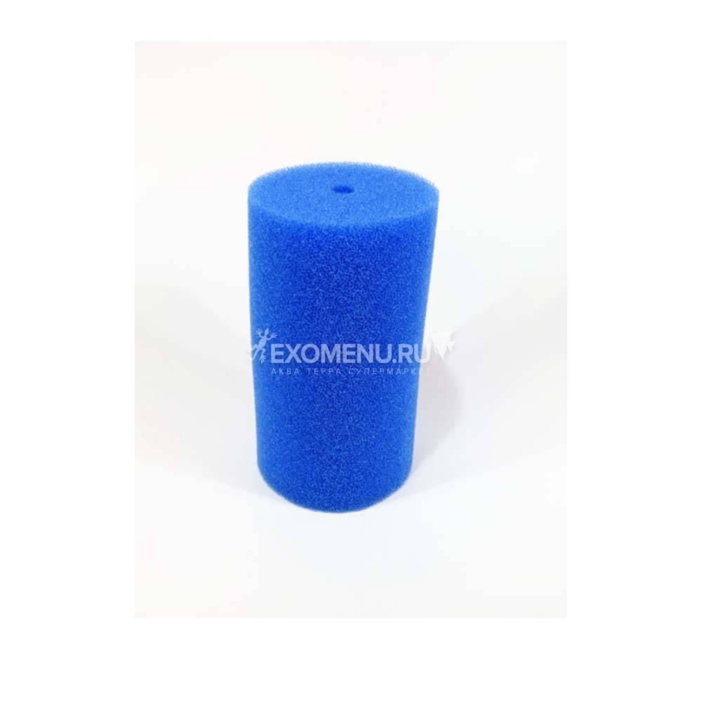 Губка фильтрующая пенополиуритановая 150x80Dмм PPI 30 синяя