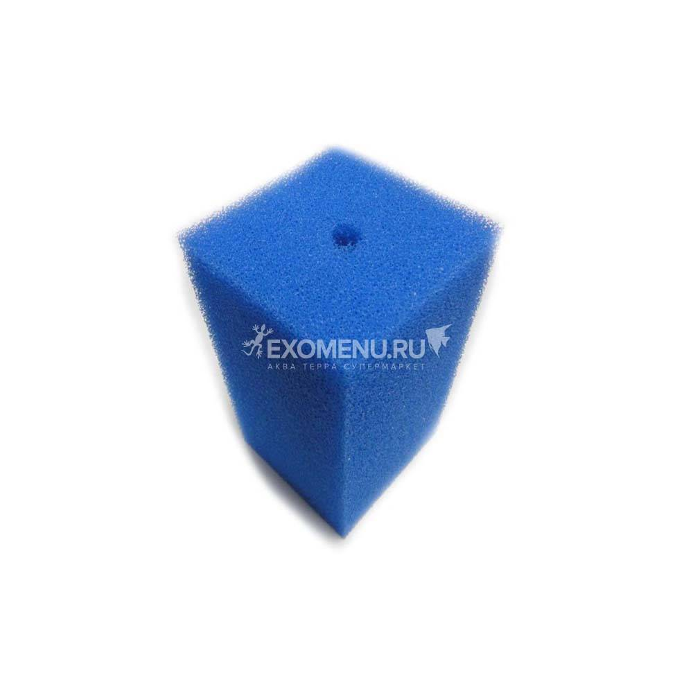 Губка фильтрующая пенополиуритановая 200х100х100мм PPI 20 синяя