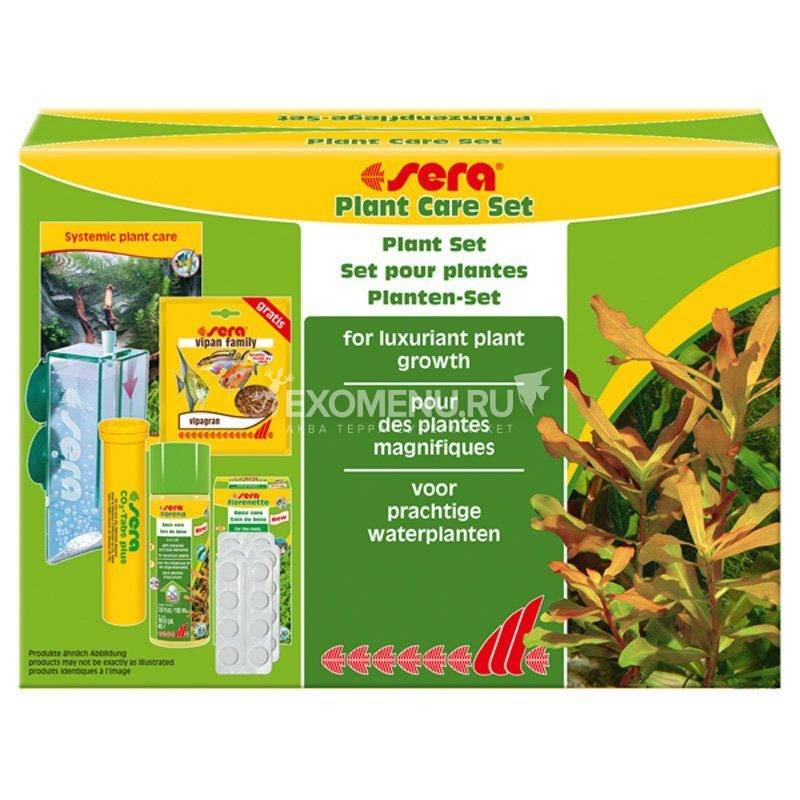 Sera Набор средств по уходу за растениями PLANT CARESET (S3290)