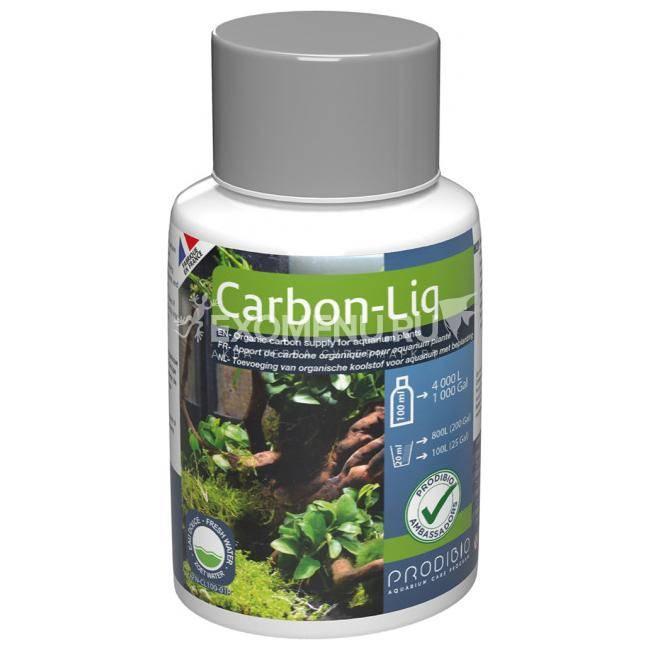 PRODIBIO Carbon-Liq жидкий углерод для растений, 100мл для аквариумов до 4000л