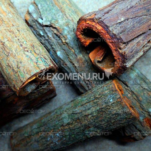DECOTOP Venado S - Трубка из коры гондурасского махагони, 16×3 см