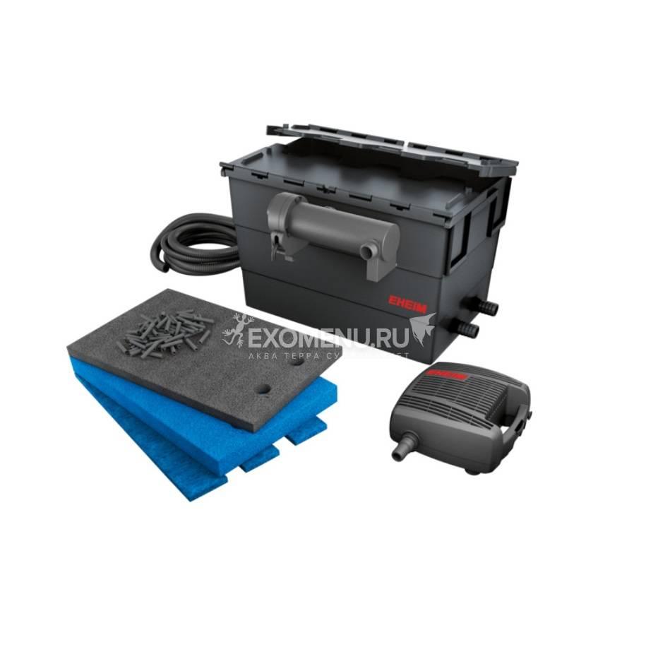 Фильтр прудовый проточный EHEIM LOOP15000 set  помпа FLOW5000 / стерилизатор 11Вт /наполнитель EHEIM filter media (ПОД ЗАКАЗ)