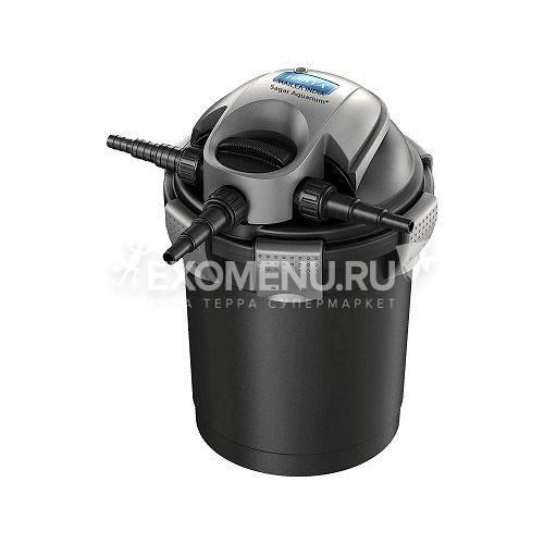 Фильтр напорный биомеханический прудовый QF25 с обр. промывкой и встроенным UV стерилизатором, 11W (макс. поток 6000 л/ч) до 12000л 220V,50Hz, 350*350*535 мм, V канистры 25л (шт.) (шт.) (ПОД ЗАКАЗ)