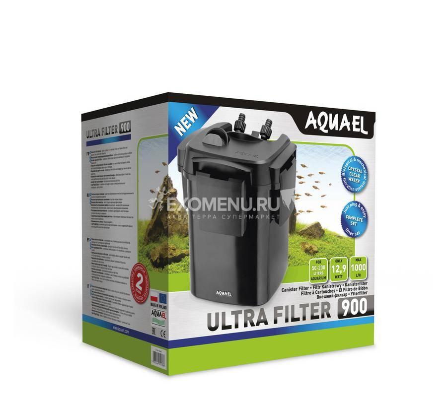 Внешний фильтр AQUAEL ULTRA FILTER  900 ( 50 - 200 л), 1000 л/ч