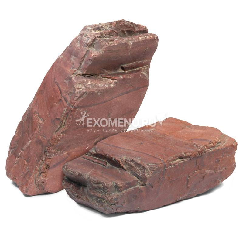 Камни для оформления аквариума/террариума, яшма, 20+/-1,5кг, Laguna, цена за кг