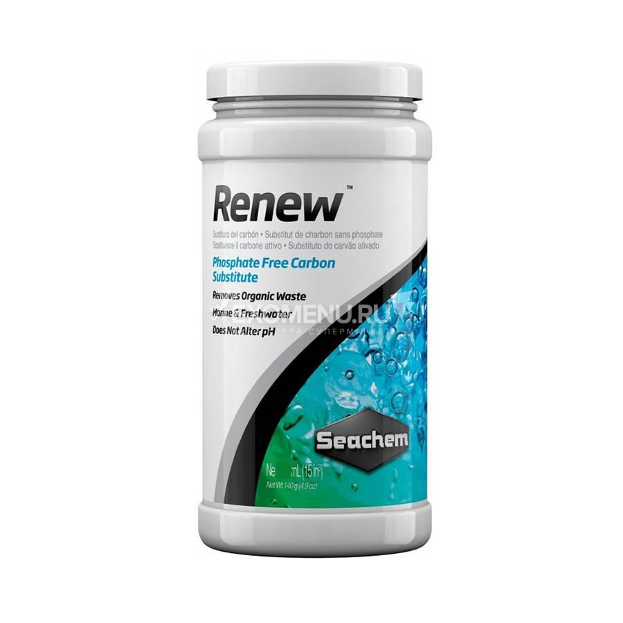 Наполнитель Seachem Renew для удаления органических соединений, 250мл до 160л