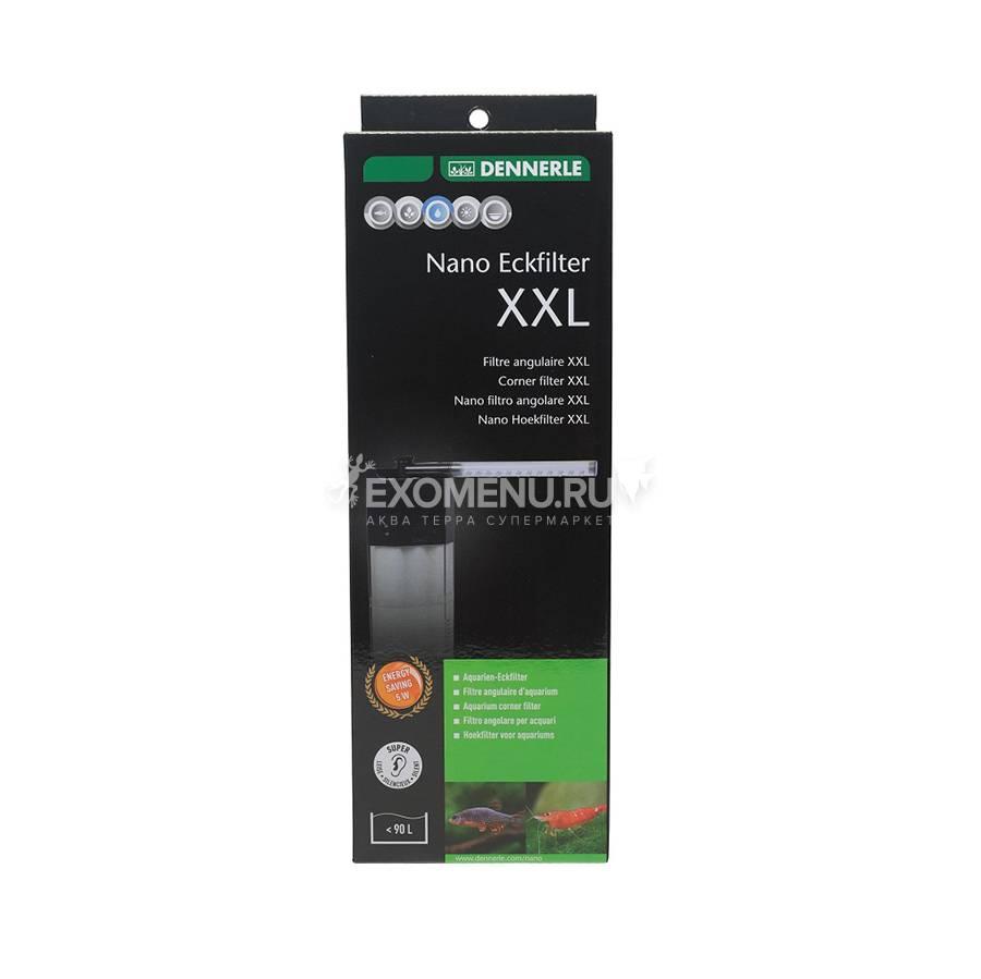 Фильтр внутренний Dennerle Nano corner filter XXL, 390л/ч, для аквариумов от 90 до 120 л