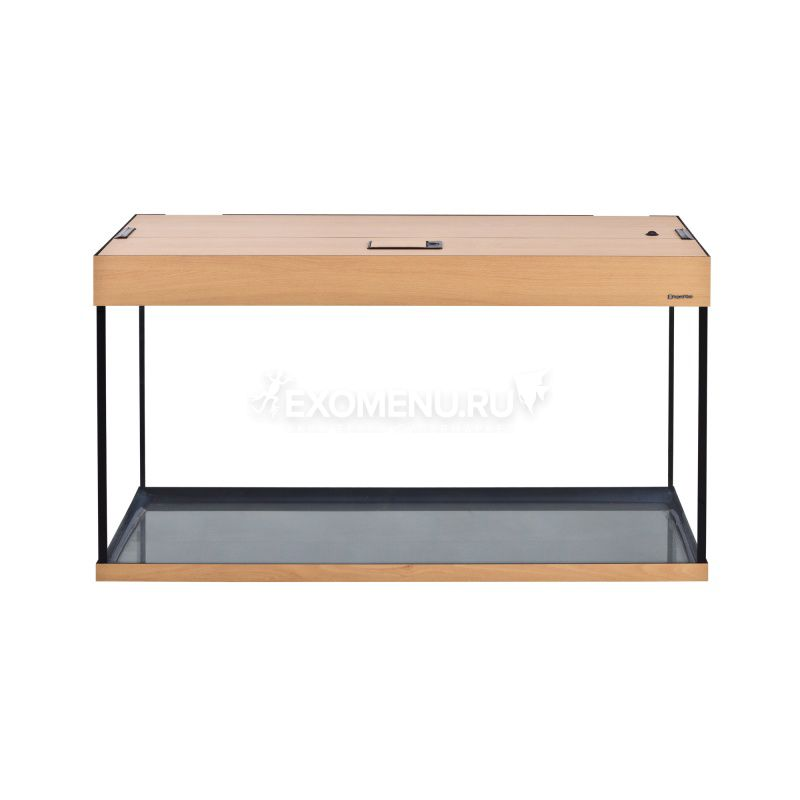 Аквариум AquaPlus 200 (1000х400х560-6/8), 185л. прямоугольный со светильником LUX 2х30Вт. бук