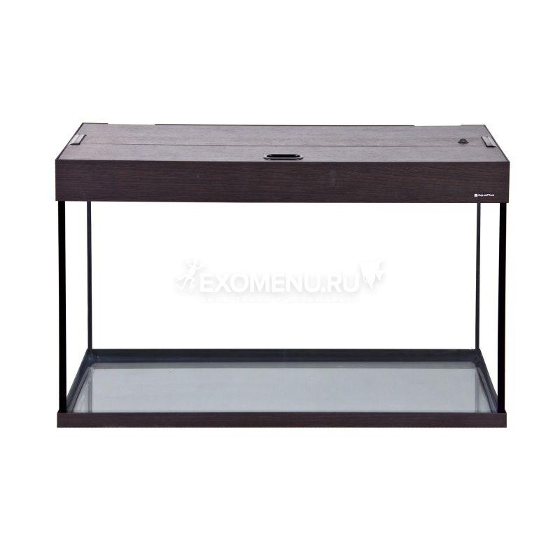 Аквариум AquaPlus 150 (900х350х560-6) прямоугольный со светильником LUX 2х25Вт. венге